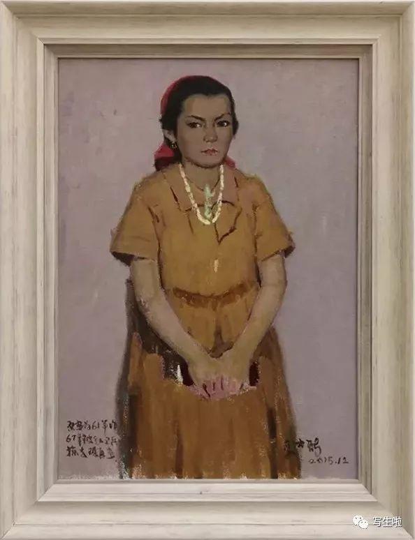 他是吴冠中眼中画的最好的画家,他是一代宗师,太极高手——草原画家妥木斯插图37