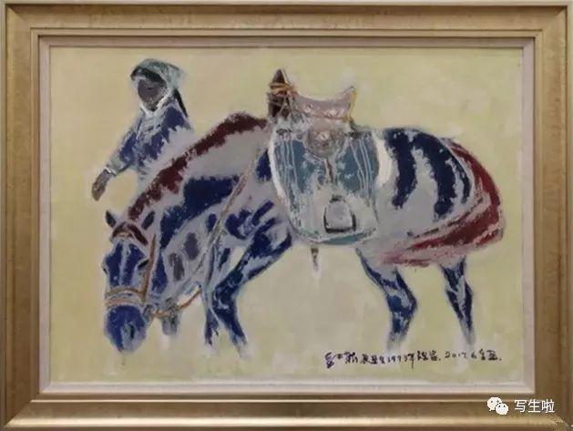 他是吴冠中眼中画的最好的画家,他是一代宗师,太极高手——草原画家妥木斯插图39