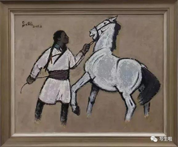 他是吴冠中眼中画的最好的画家,他是一代宗师,太极高手——草原画家妥木斯插图55
