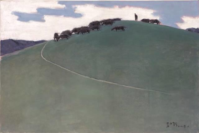 他是吴冠中眼中画的最好的画家,他是一代宗师,太极高手——草原画家妥木斯插图63