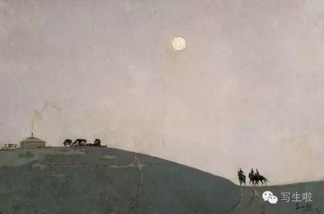 他是吴冠中眼中画的最好的画家,他是一代宗师,太极高手——草原画家妥木斯插图69