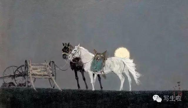他是吴冠中眼中画的最好的画家,他是一代宗师,太极高手——草原画家妥木斯插图71