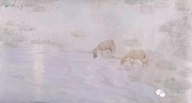 他是吴冠中眼中画的最好的画家,他是一代宗师,太极高手——草原画家妥木斯插图75