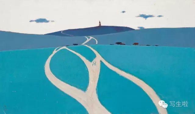 他是吴冠中眼中画的最好的画家,他是一代宗师,太极高手——草原画家妥木斯插图77