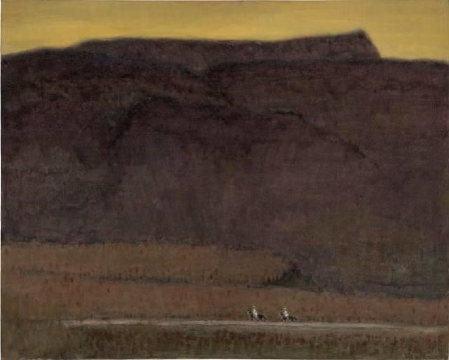 他是吴冠中眼中画的最好的画家,他是一代宗师,太极高手——草原画家妥木斯插图81