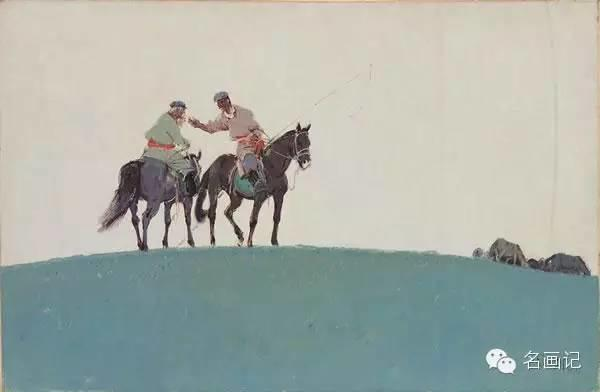 他是吴冠中眼中画的最好的画家,他是一代宗师,太极高手——草原画家妥木斯插图85