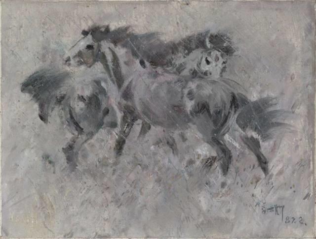 他是吴冠中眼中画的最好的画家,他是一代宗师,太极高手——草原画家妥木斯插图89