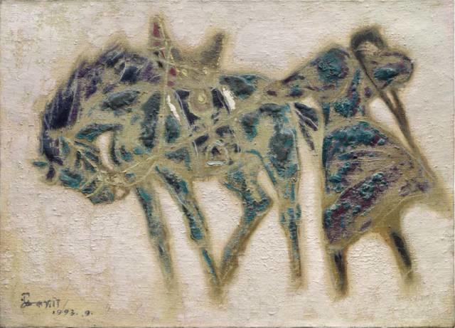 他是吴冠中眼中画的最好的画家,他是一代宗师,太极高手——草原画家妥木斯插图91