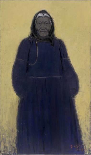 他是吴冠中眼中画的最好的画家,他是一代宗师,太极高手——草原画家妥木斯插图93