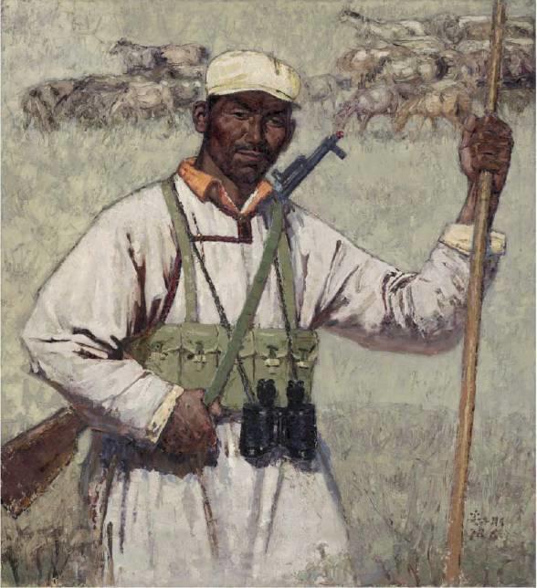 他是吴冠中眼中画的最好的画家,他是一代宗师,太极高手——草原画家妥木斯插图101