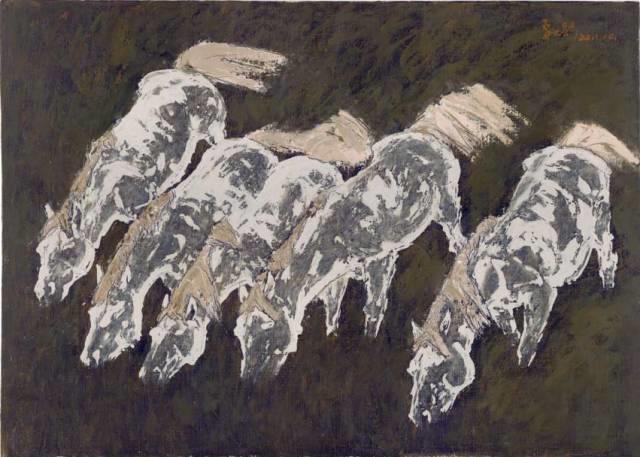 他是吴冠中眼中画的最好的画家,他是一代宗师,太极高手——草原画家妥木斯插图105