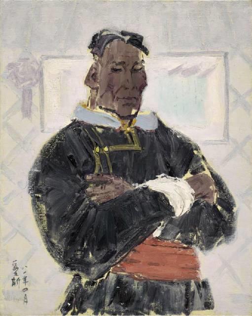 他是吴冠中眼中画的最好的画家,他是一代宗师,太极高手——草原画家妥木斯插图109