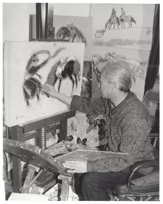 他是吴冠中眼中画的最好的画家,他是一代宗师,太极高手——草原画家妥木斯插图113