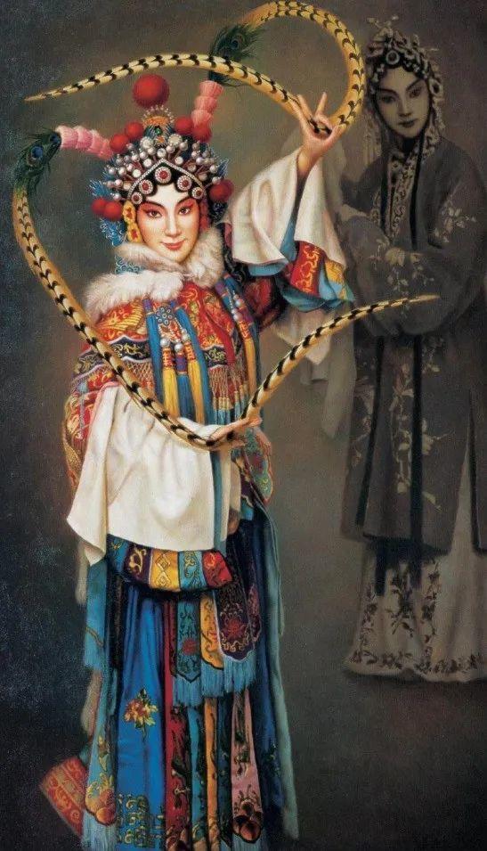 优雅柔美的东方女子,著名艺术家姜迎久的油画艺术作品赏析插图21