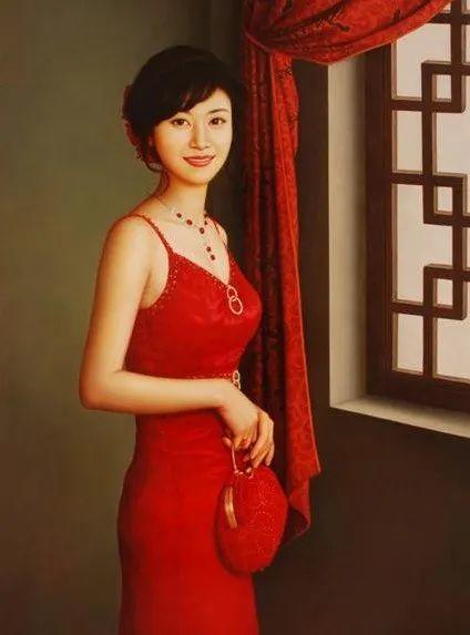优雅柔美的东方女子,著名艺术家姜迎久的油画艺术作品赏析插图27
