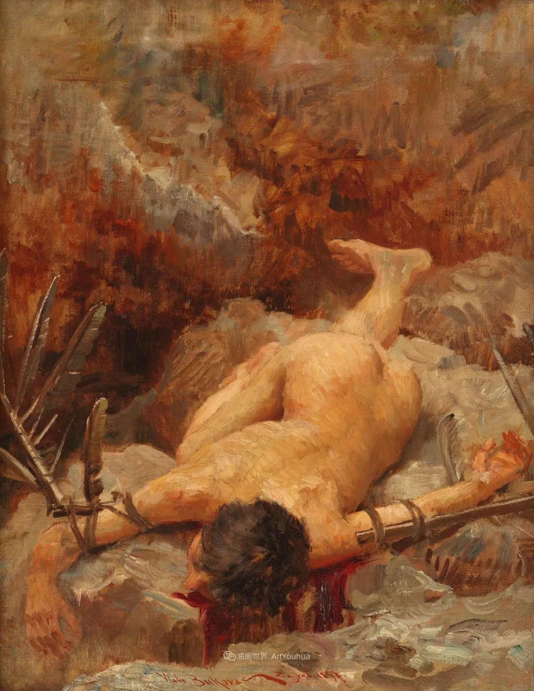 罗地亚杰出油画艺术大师 布科瓦茨的油画插图15