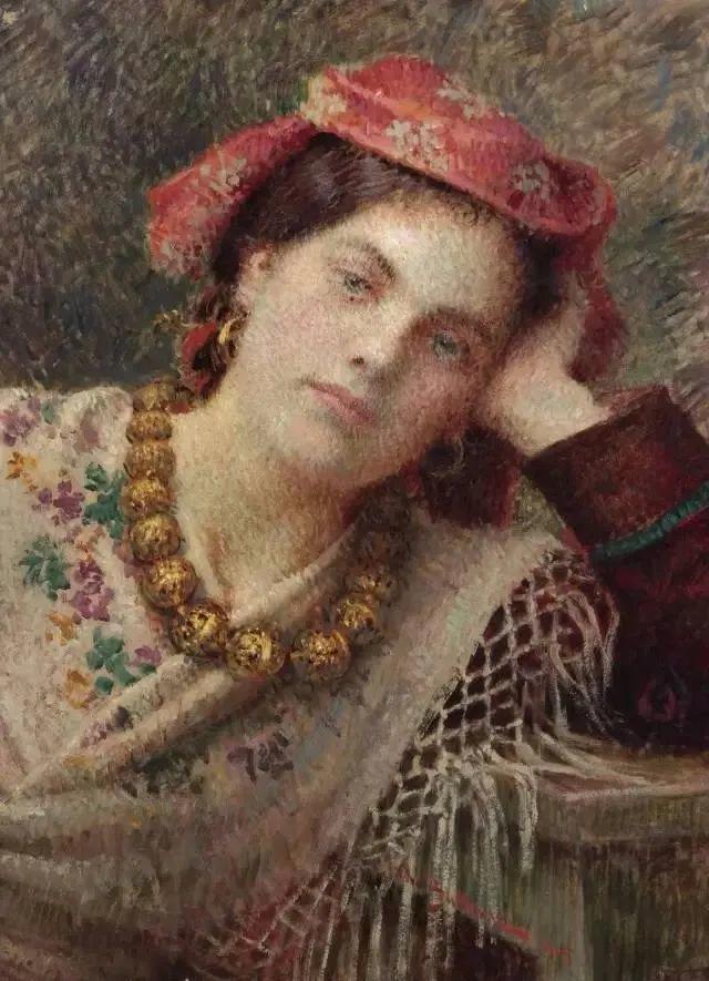 罗地亚杰出油画艺术大师 布科瓦茨的油画插图33