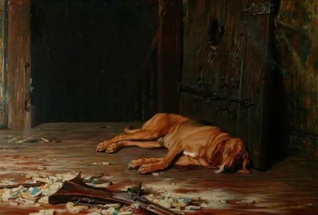 他画的狗狗,比忠犬八公更平易感人插图15