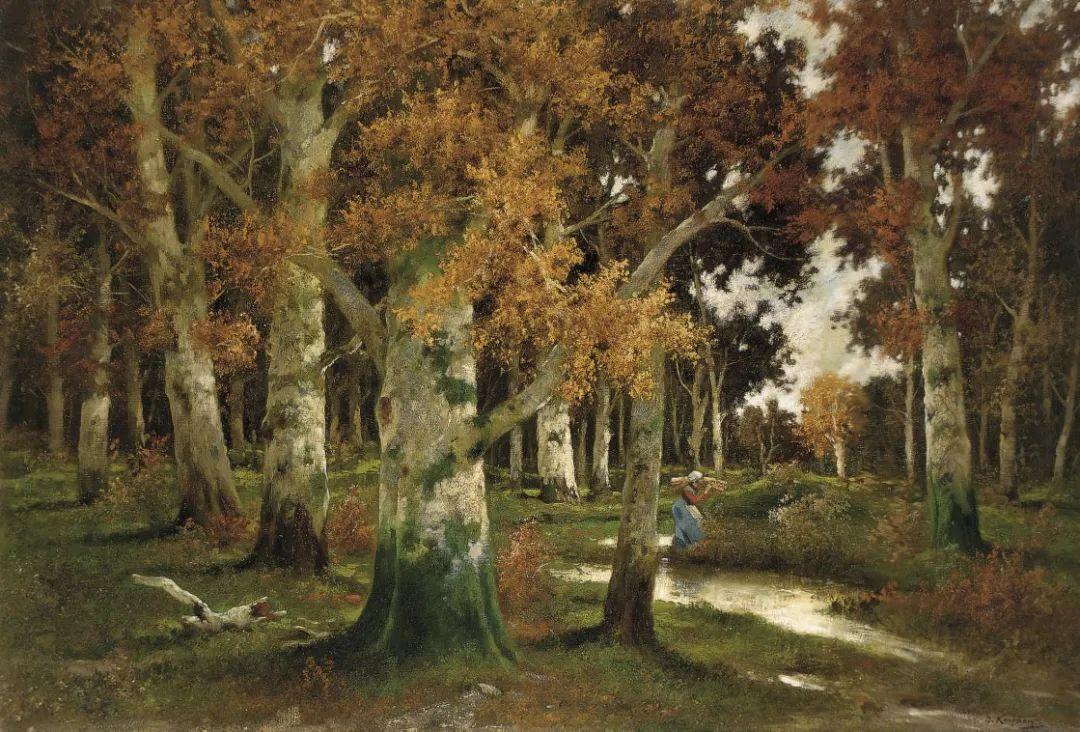 风景油画丨奥地利画家阿道夫·考夫曼的精美风景画插图5