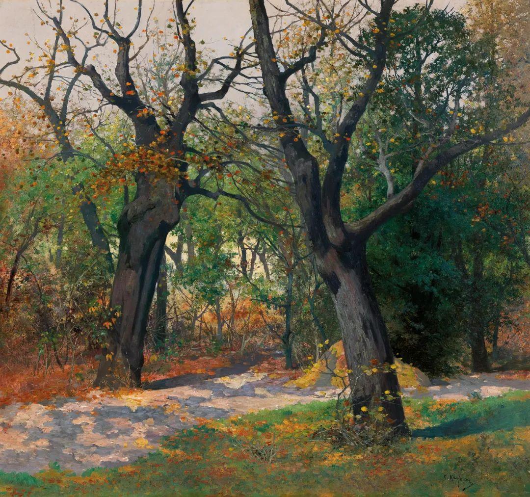 风景油画丨奥地利画家阿道夫·考夫曼的精美风景画插图9