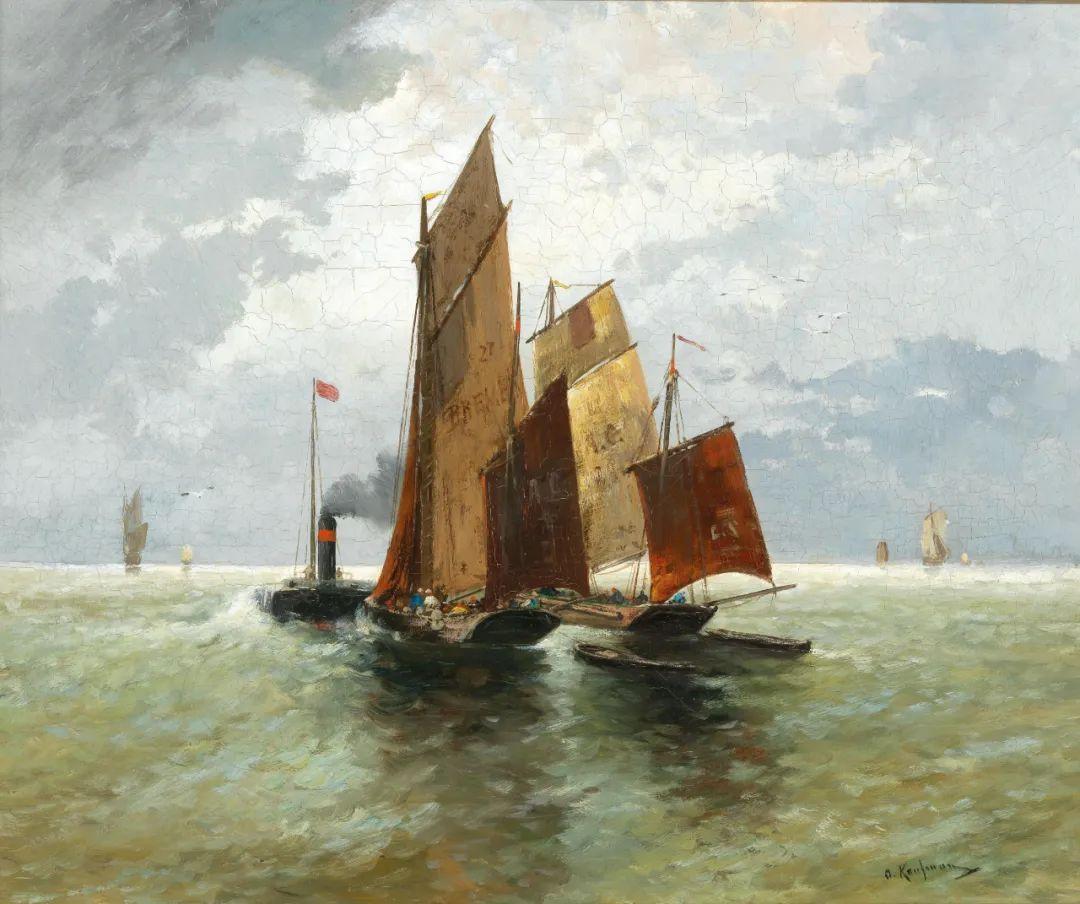 风景油画丨奥地利画家阿道夫·考夫曼的精美风景画插图13