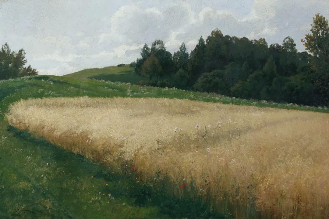 风景油画丨奥地利画家阿道夫·考夫曼的精美风景画插图15