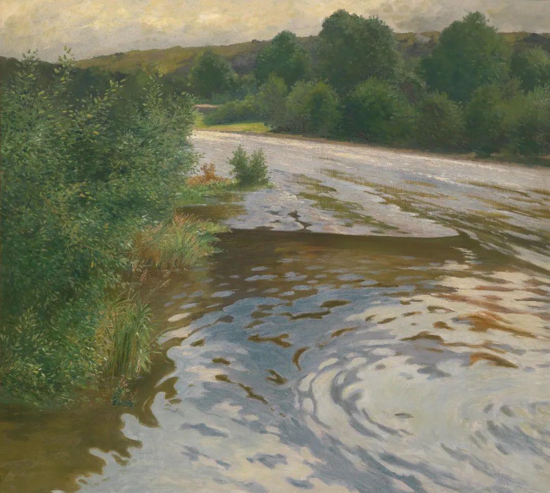 风景油画丨奥地利画家阿道夫·考夫曼的精美风景画插图23