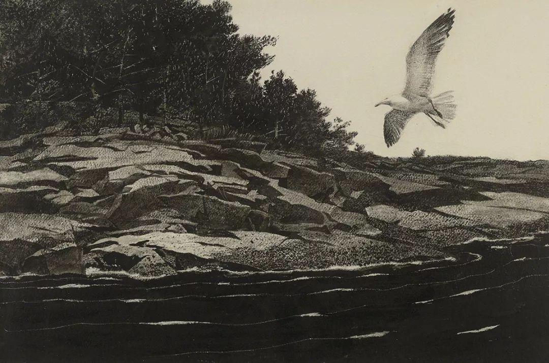 怀斯 | 栖息在诗意的土地插图37