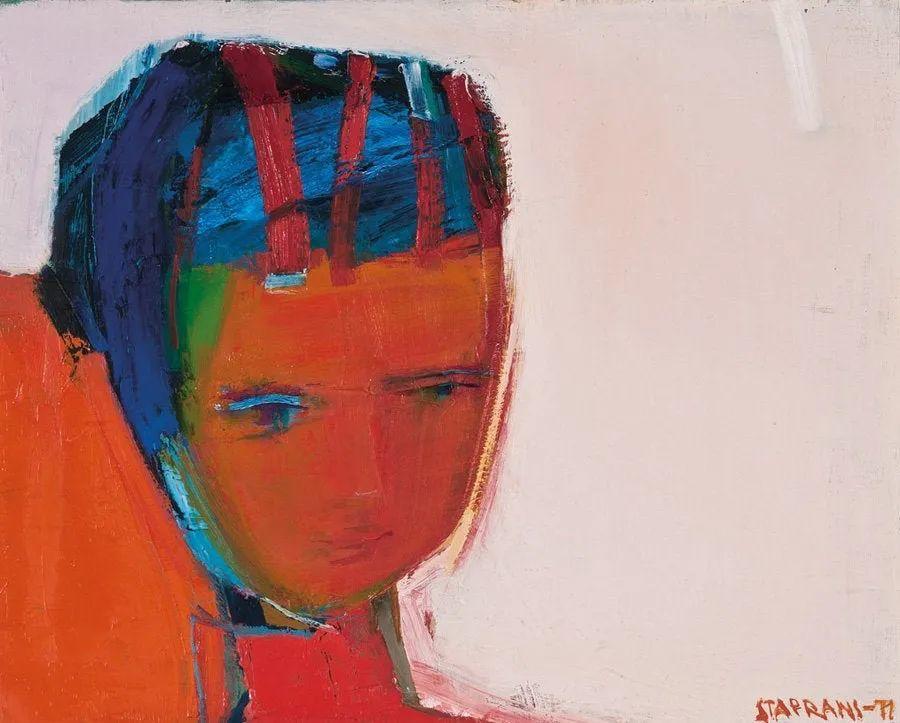 浓烈的色彩与极简的构图   莱蒙兹·斯塔普兰斯油画作品插图13