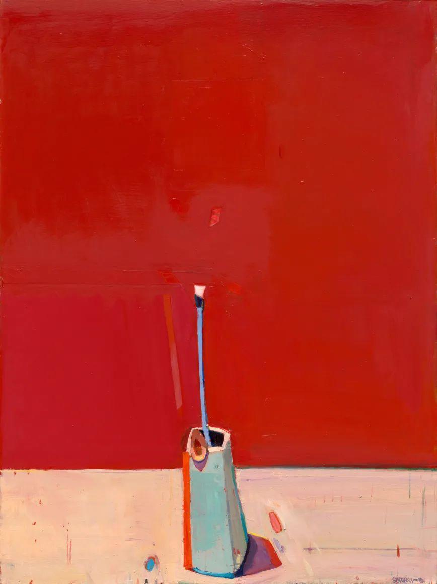 浓烈的色彩与极简的构图   莱蒙兹·斯塔普兰斯油画作品插图25
