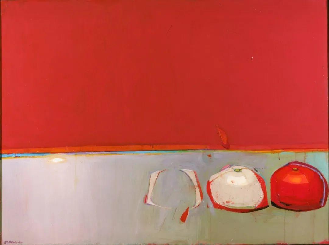浓烈的色彩与极简的构图   莱蒙兹·斯塔普兰斯油画作品插图29