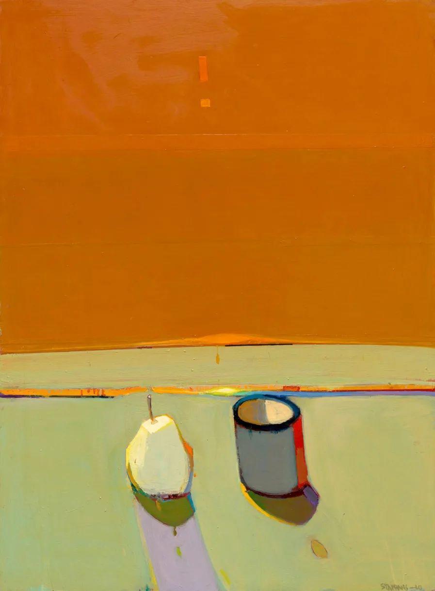 浓烈的色彩与极简的构图   莱蒙兹·斯塔普兰斯油画作品插图31