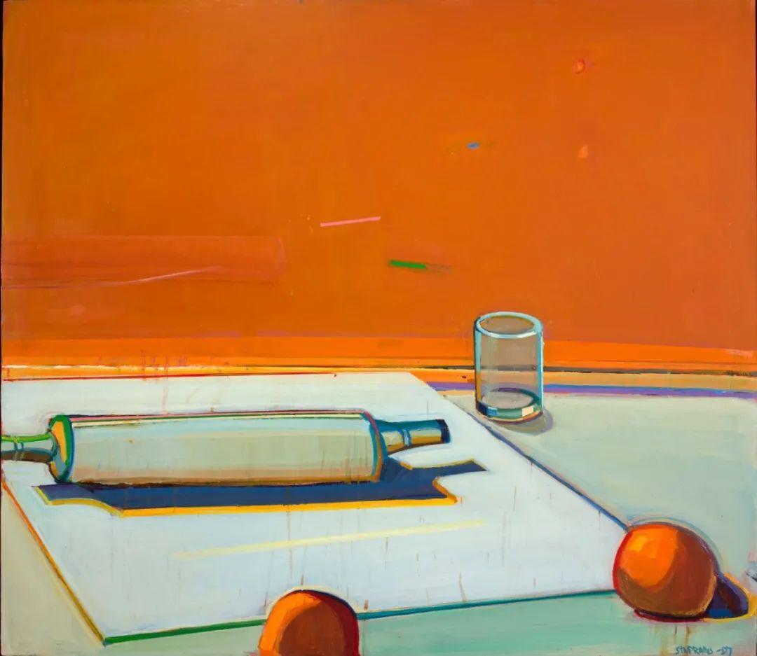 浓烈的色彩与极简的构图   莱蒙兹·斯塔普兰斯油画作品插图33