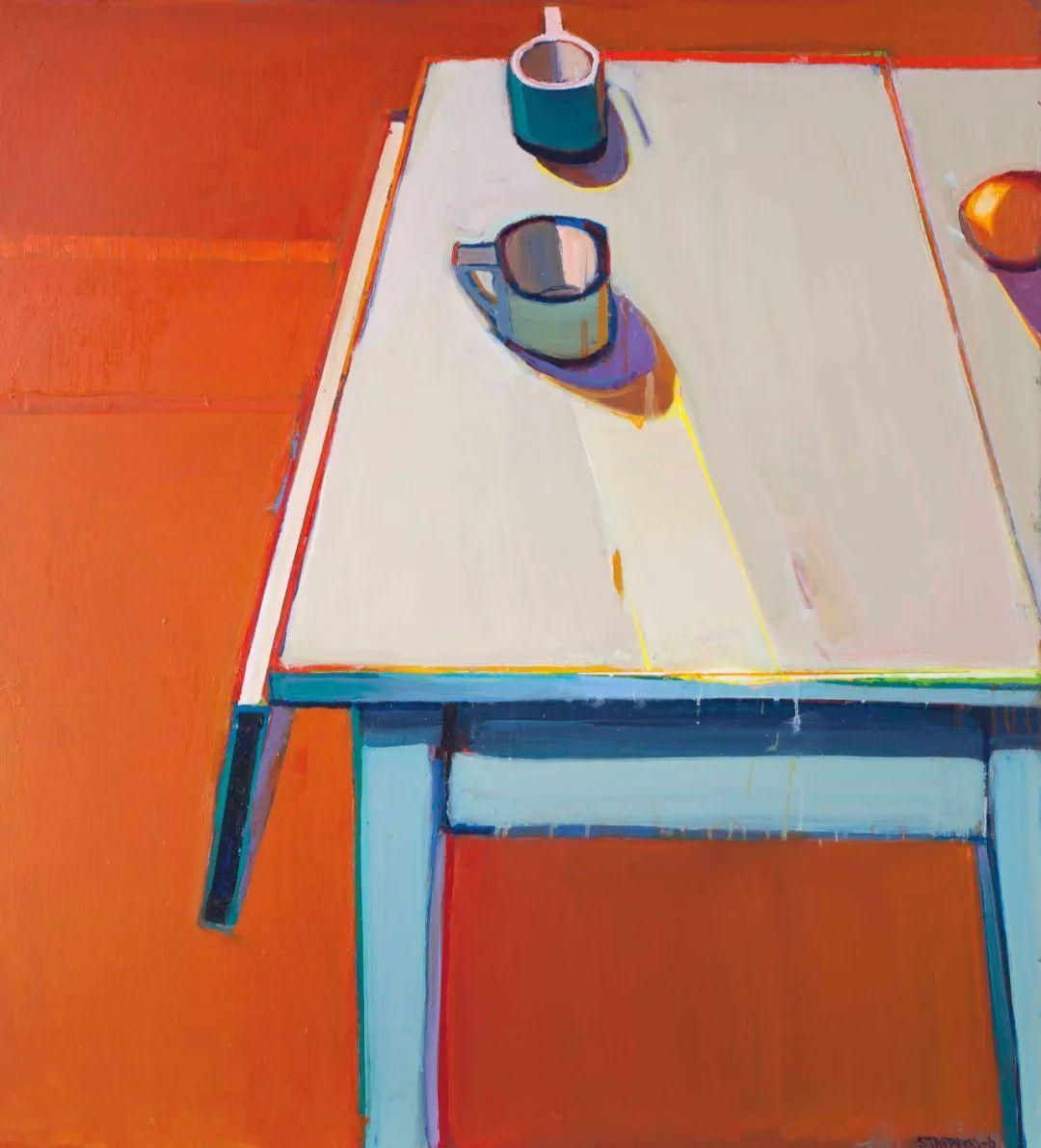 浓烈的色彩与极简的构图   莱蒙兹·斯塔普兰斯油画作品插图35