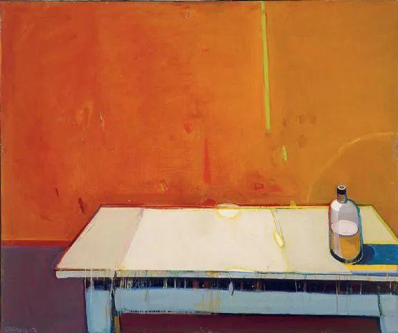 浓烈的色彩与极简的构图   莱蒙兹·斯塔普兰斯油画作品插图43