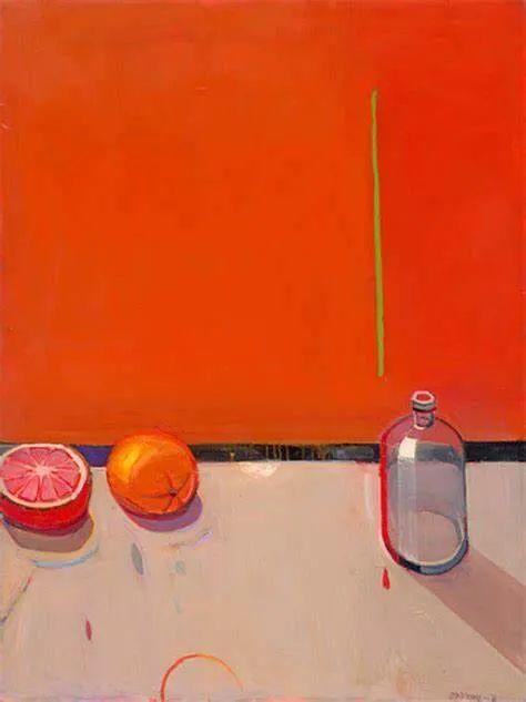 浓烈的色彩与极简的构图   莱蒙兹·斯塔普兰斯油画作品插图53