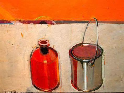 浓烈的色彩与极简的构图   莱蒙兹·斯塔普兰斯油画作品插图55