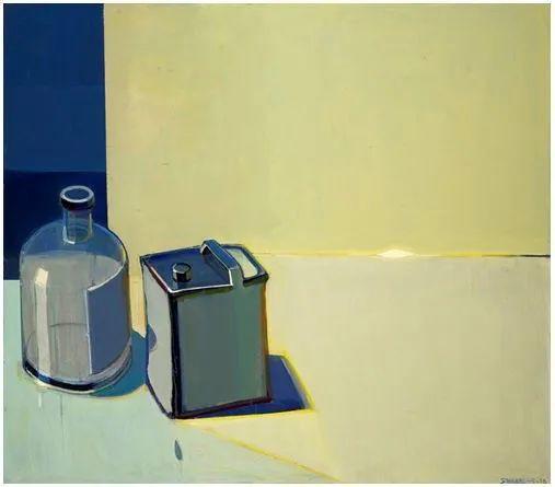 浓烈的色彩与极简的构图   莱蒙兹·斯塔普兰斯油画作品插图63