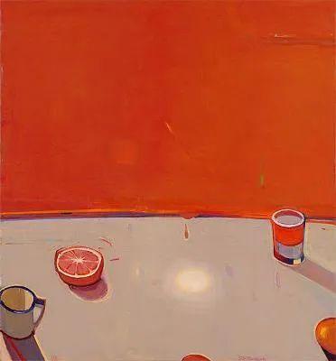 浓烈的色彩与极简的构图   莱蒙兹·斯塔普兰斯油画作品插图67