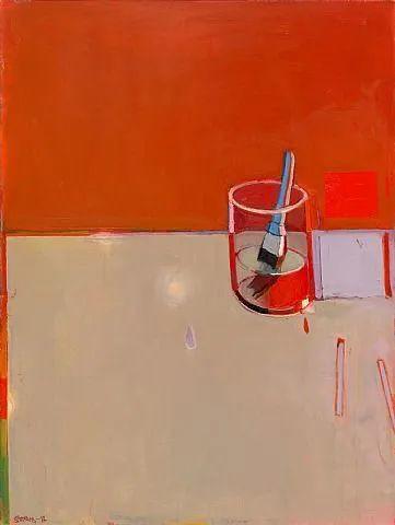 浓烈的色彩与极简的构图   莱蒙兹·斯塔普兰斯油画作品插图69
