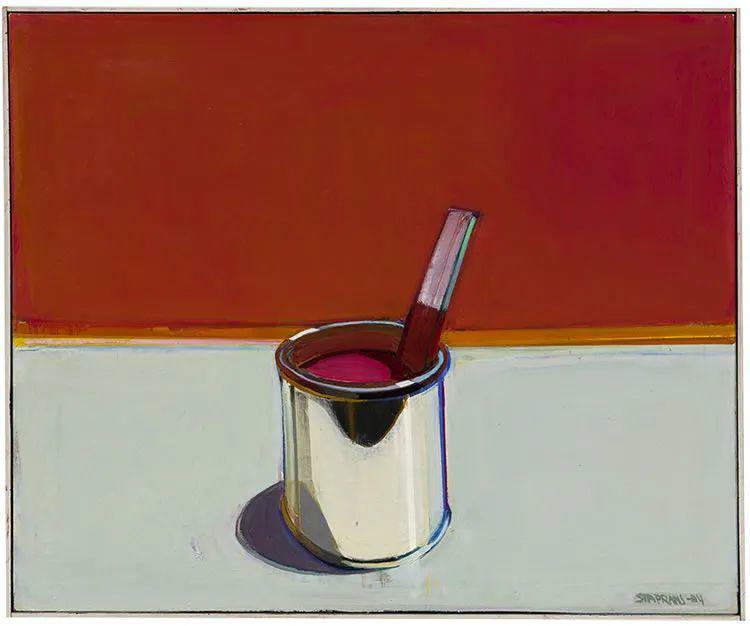 浓烈的色彩与极简的构图   莱蒙兹·斯塔普兰斯油画作品插图71