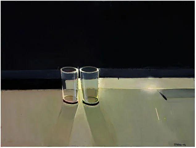 浓烈的色彩与极简的构图   莱蒙兹·斯塔普兰斯油画作品插图81