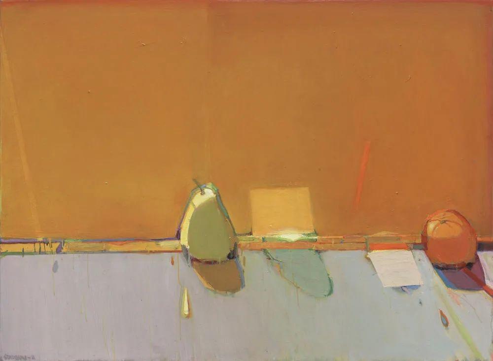 浓烈的色彩与极简的构图   莱蒙兹·斯塔普兰斯油画作品插图85