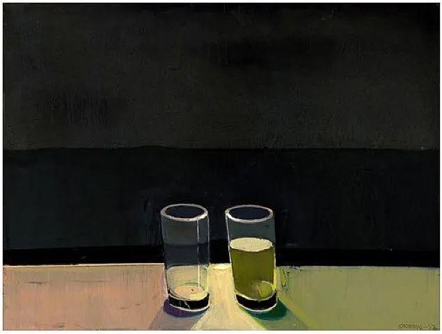 浓烈的色彩与极简的构图   莱蒙兹·斯塔普兰斯油画作品插图89