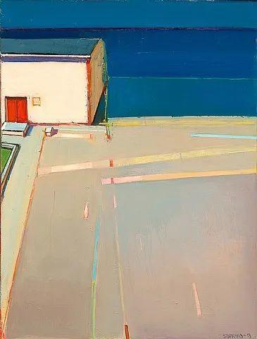 浓烈的色彩与极简的构图   莱蒙兹·斯塔普兰斯油画作品插图95