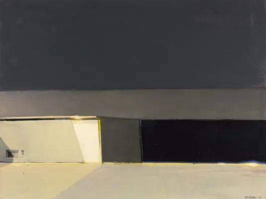 浓烈的色彩与极简的构图   莱蒙兹·斯塔普兰斯油画作品插图99