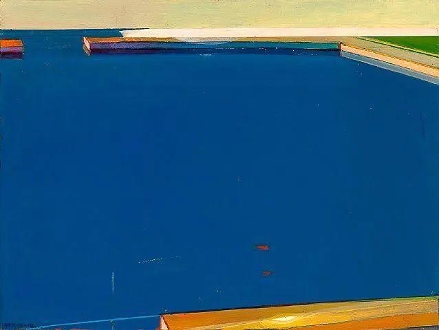 浓烈的色彩与极简的构图   莱蒙兹·斯塔普兰斯油画作品插图101