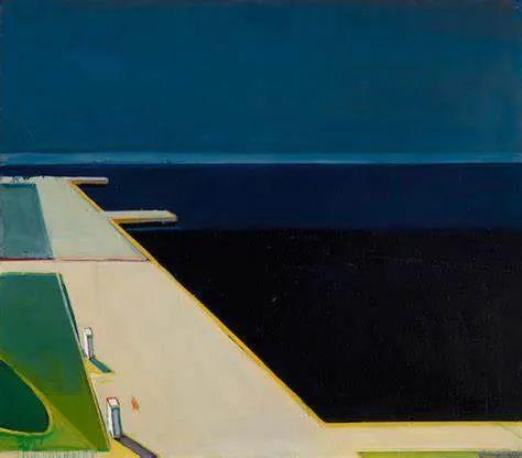 浓烈的色彩与极简的构图   莱蒙兹·斯塔普兰斯油画作品插图103