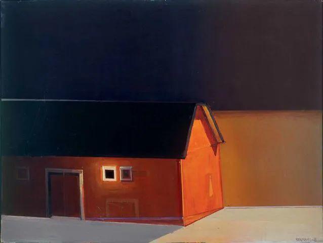 浓烈的色彩与极简的构图   莱蒙兹·斯塔普兰斯油画作品插图107