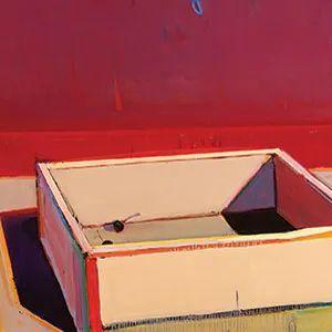浓烈的色彩与极简的构图   莱蒙兹·斯塔普兰斯油画作品插图109